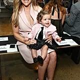Alyssa Milano and Her Daughter, Elizabella