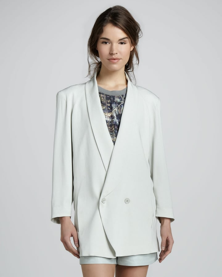 It's not all about dresses — embrace the decade's menswear vibe with this Band Of Outsiders girl. by Band of Outsiders Cabrini blazer ($585).