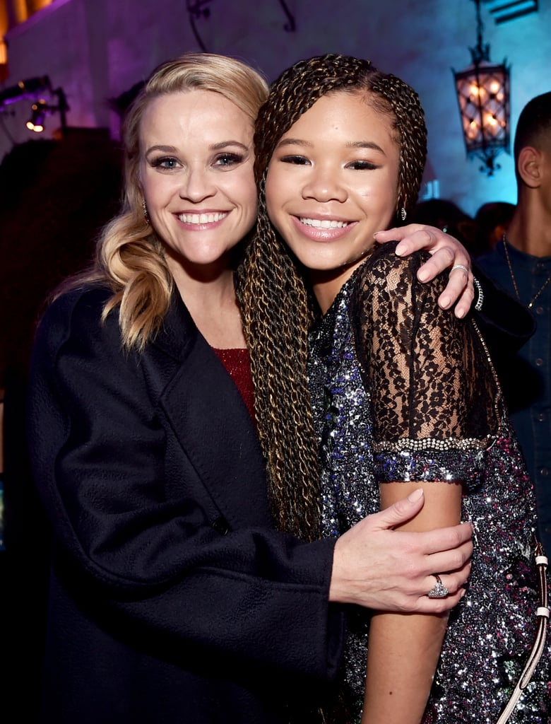 Pictured: Reese Witherspoon and Storm Reid
