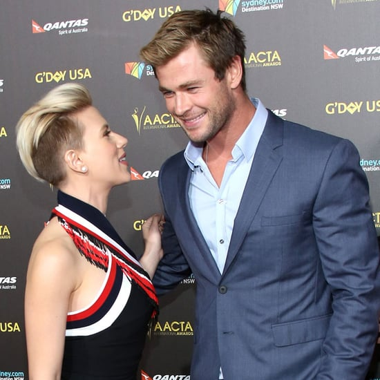 Australian Celebrities 2015 G'Day LA Gala: Chris Hemsworth