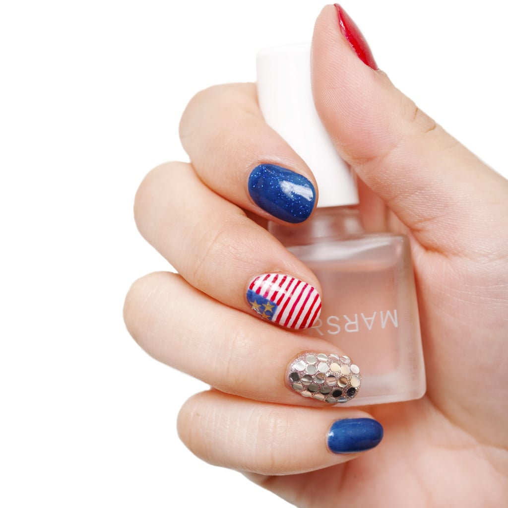 4th of July Nail Art | POPSUGAR Beauty