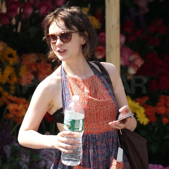 Pictures of Carey Mulligan at Through a Glass Darkly in NYC