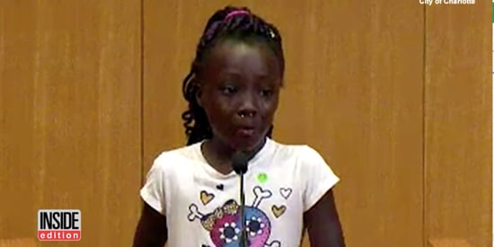 Young Girl Tearfully Explains Why Charlotte Feels The Need To Protest