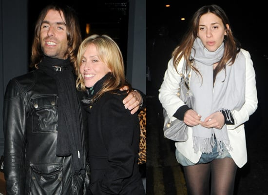 Shock Horror: Liam Gallagher Grins at the Paps!