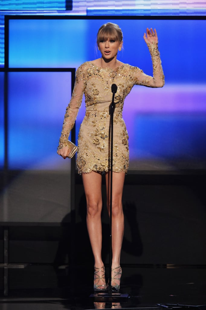 Taylor and Justin Win Big at the American Music Awards