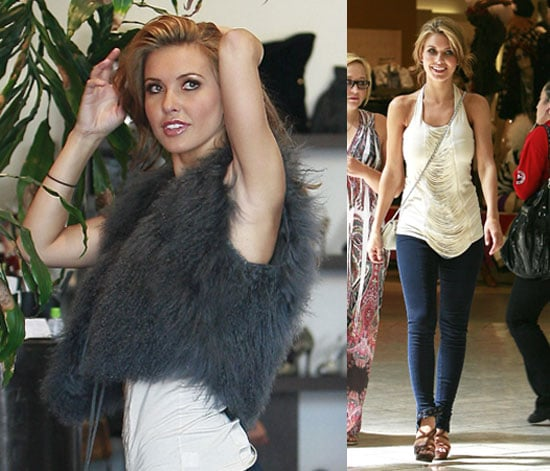 Photos of Audrina Patridge Filming The Hills in LA