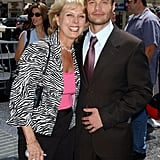 Ryan Seacrest and Connie Zullinger