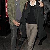 Keira Knightley and James Righton out in London.