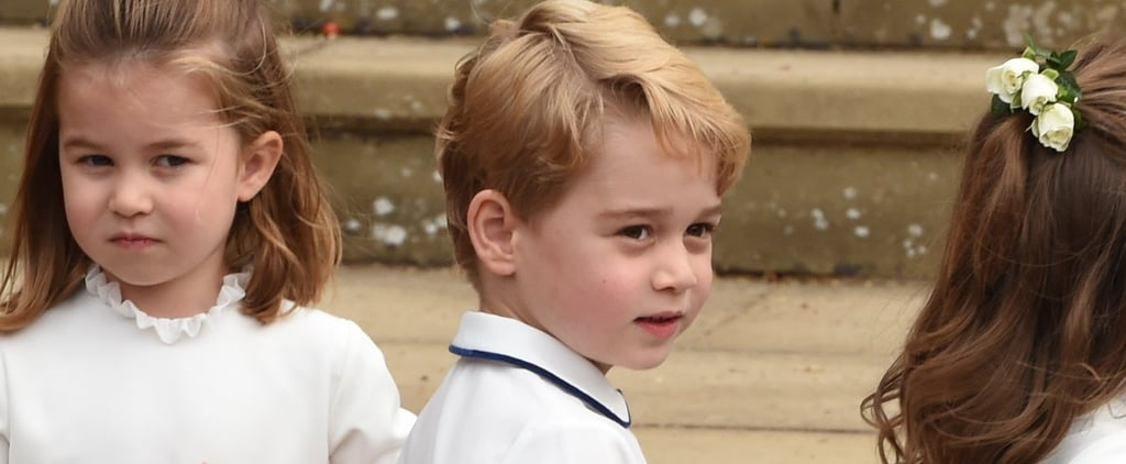 Prince William and Prince George as Royal Pageboys Pictures