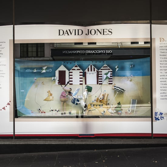 David Jones 2014 Christmas Windows