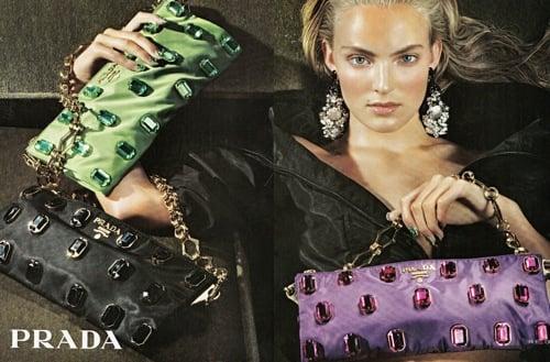 Prada Resort Campaign Ad Featuring Ymre Stiekema