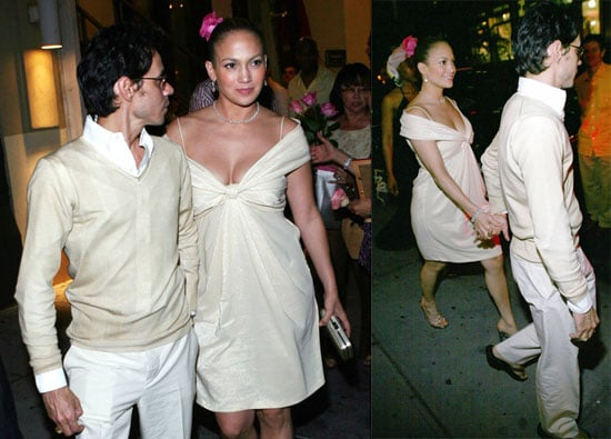 Photos of Jennifer Lopez and Marc Anthony in New York 6/16/08