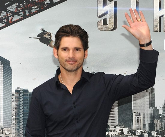 Photo of Eric Bana at a Star Trek Photo Call in Madrid