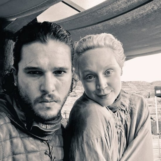 Gwendoline Christie Photo With Kit Harington 2017