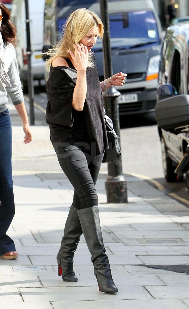 Kate Moss Shops and Lines Up Mario Testino, Possibly John Galliano For Her Wedding