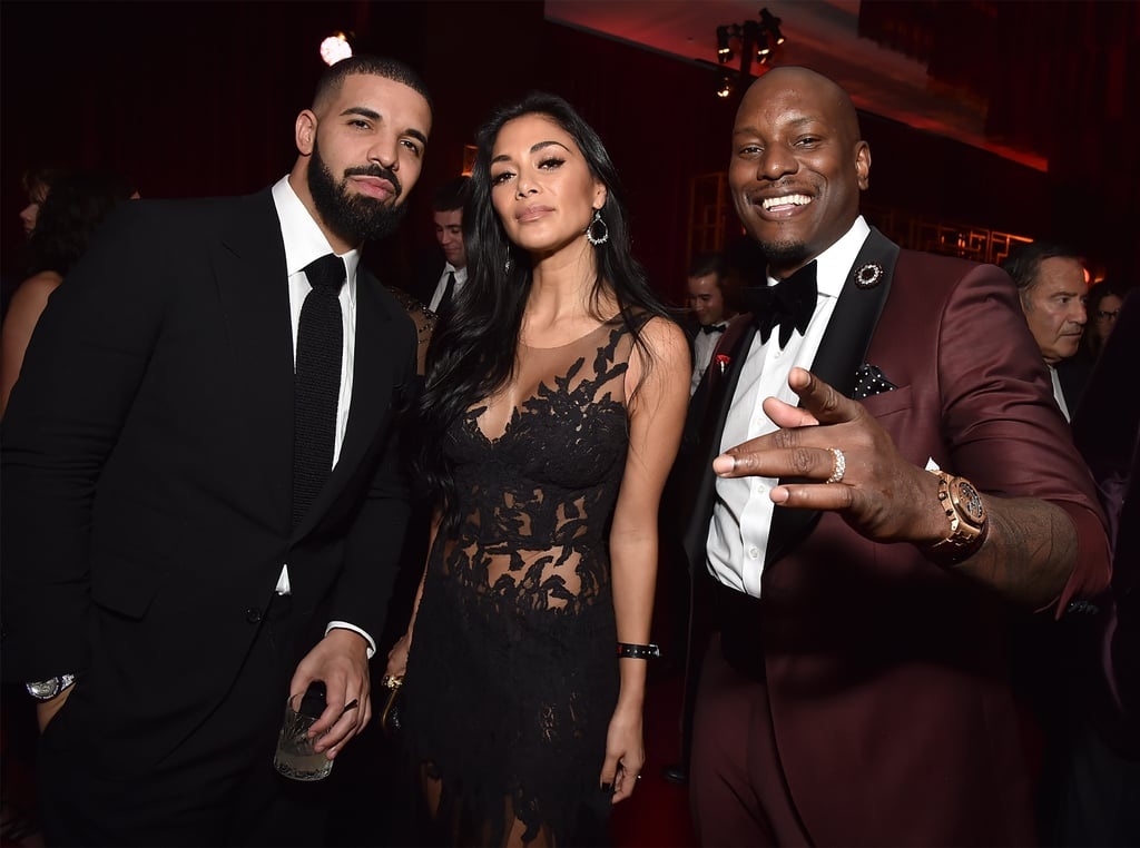 Drake, Nicole Scherzinger, and Tyrese Gibson united for a photo that's dripping with swag in 2018.