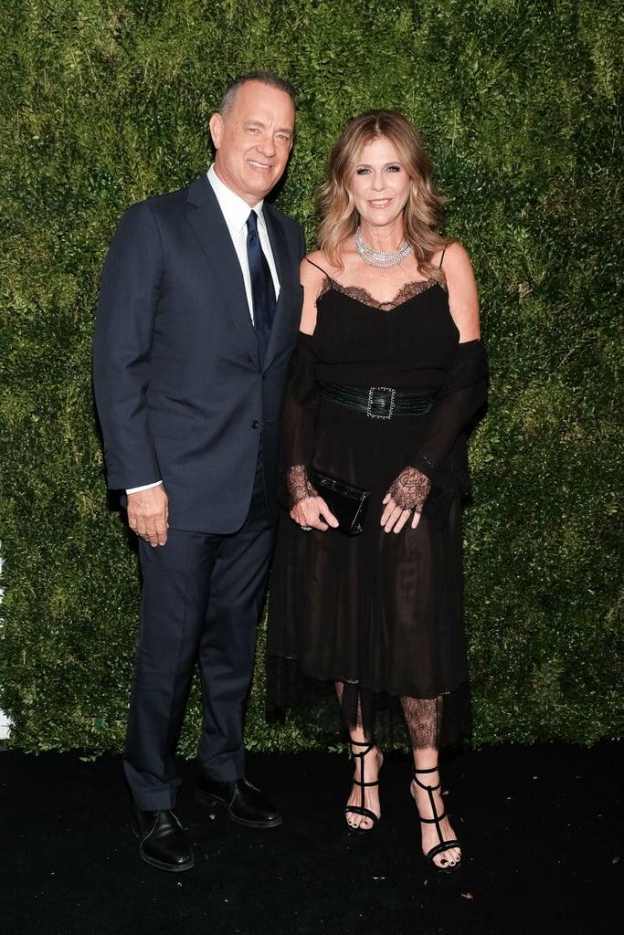 Tom Hanks and Rita Wilson at MOMA Film Benefit 2016
