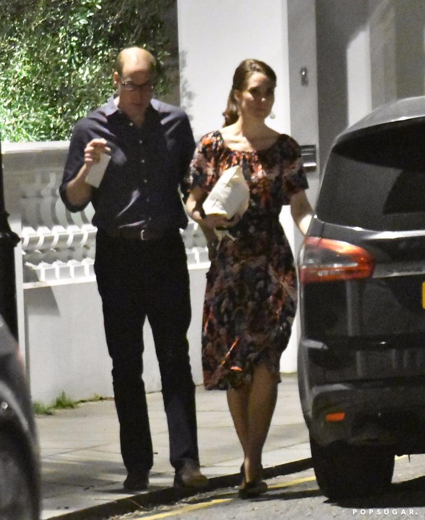 avaient rendez-vous chez Pippa Middleton (la soeur cadette de Kate) et son fiancé James Matthews pour parler mariage et rencontrer la belle famille.