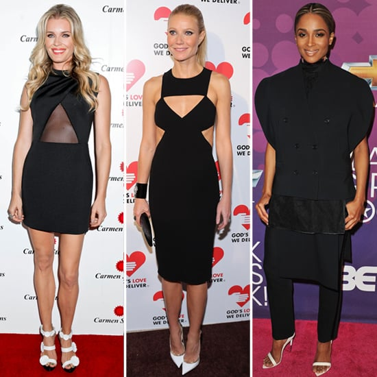 Black Dresses With White Shoes | Celeb Pictures and Shopping