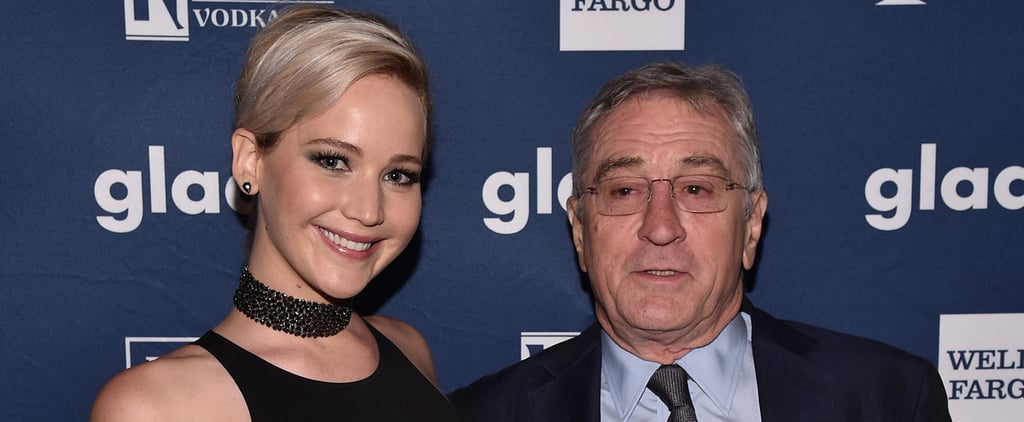 Former Costars Jennifer Lawrence and Robert De Niro Reunite For a Special Occasion