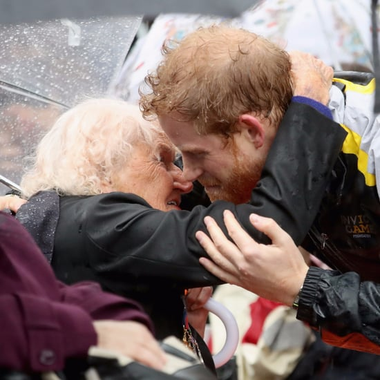 Prince Harry With Elderly Women Pictures