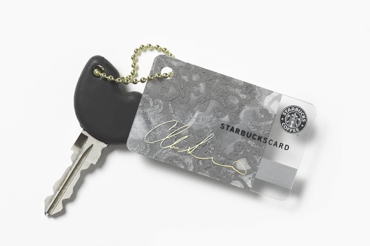 Christian Siriano-Designed Mini Starbucks Card