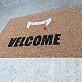 Velcome Vampire Doormat ($40)