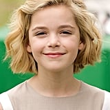 Kiernan Shipka With Blond Hair in 2010