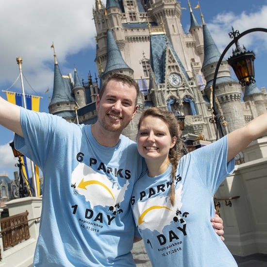 Couple Visit All 6 US Disney Theme Parks in 1 Day