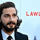 Shia LaBeouf Brings a Date to Lawless's LA Premiere