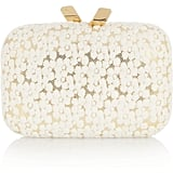 Kotur Margo Floral-Lace Box Clutch