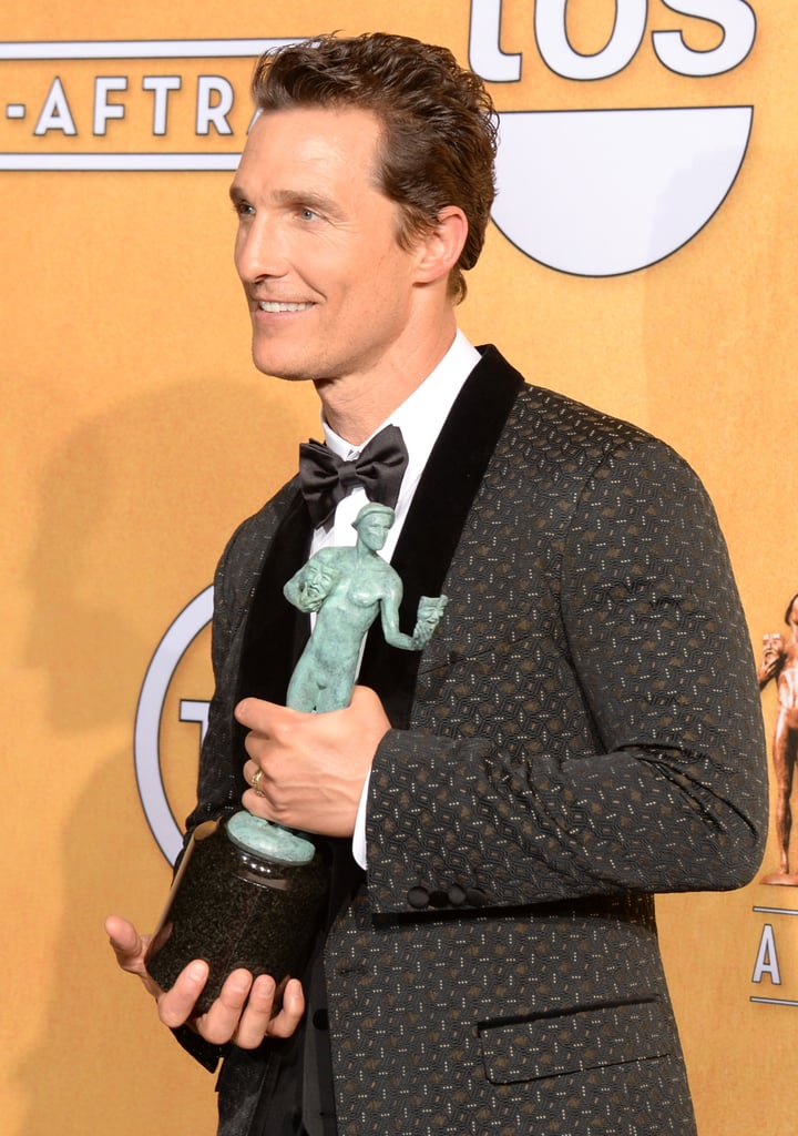 Dallas Buyers Club's Matthew McConaughey took it all in.