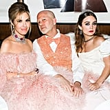 Leslie Grossman, Ryan Murphy, and Billie Lourd