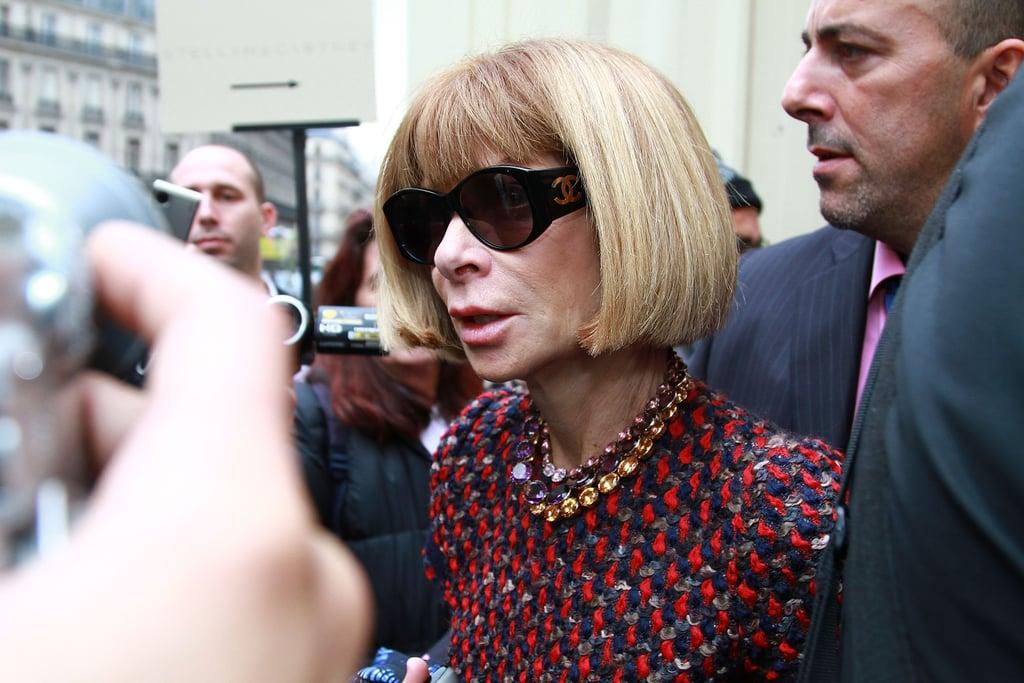 Celebrities at Paris Fashion Week 2010-10-05 16:00:00
