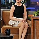 Michelle Williams took in the audience at The Tonight Show With Jay Leno.