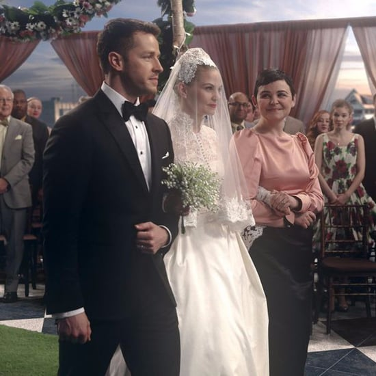 Emma Swan's Wedding Dress on Once Upon a Time