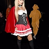 Paris Hilton as Little Red Riding Hood