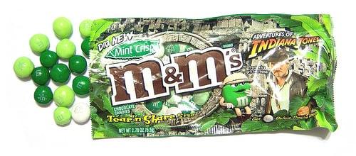 Yummy Link: Mint Crisp M&Ms