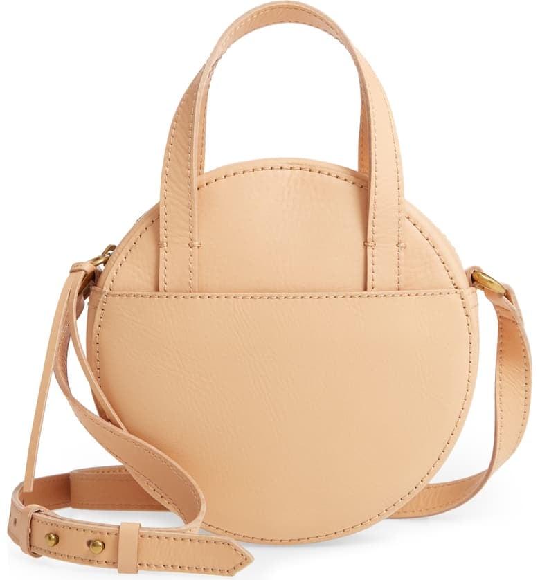 Madewell Juno Circle Leather Crossbody Bag