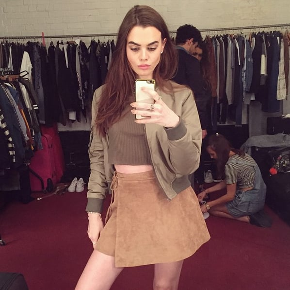 Charli Shares BTS Snaps From Her Shoots