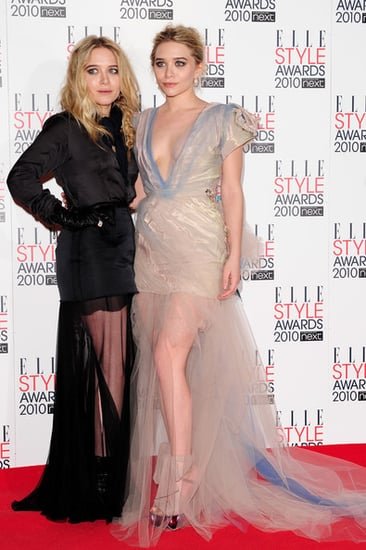 Mary-Kate and Ashley Olsen at the Elle Style Awards in London