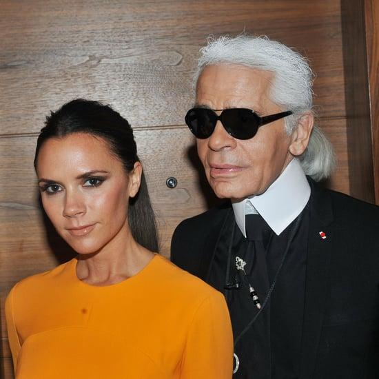 Victoria Beckham's Tribute to Karl Lagerfeld on Instagram