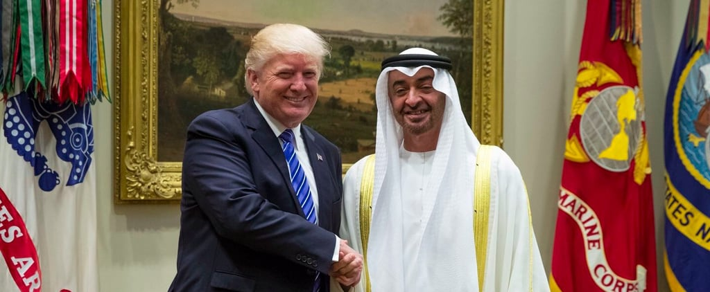 Here's How Donald Trump Welcomed Abu Dhabi's Crown Prince