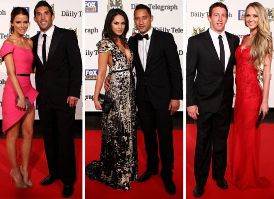 Red Carpet Pictures from the 2011 Dally M Awards: Winner Billy Slater and the Gorgeous Wives and Girlfriends Frock Up!