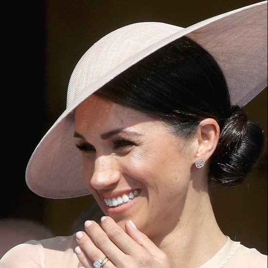 Meghan Markle First Bun After Royal Wedding