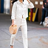 Cara Santana in a Denim-on-Denim Outfit From the POPSUGAR Collection at Kohl's