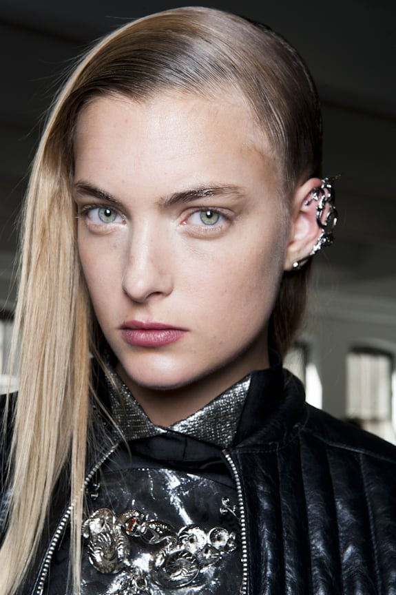 The Modern Medieval Hairstyle Called For Sleek Shiny Hair In A Rodarte Goes Medieval On Its Hair Popsugar Beauty Photo 3