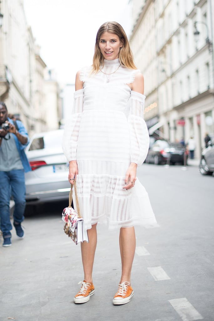 With a White Midi Dress | How to Wear