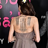 A Closer Look at the Back of the Dress