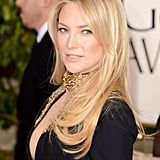 Kate Hudson Stuns in a Plunging Gown at the Globes